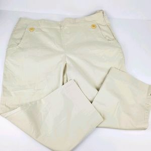 NWT Talbots Crop Pants